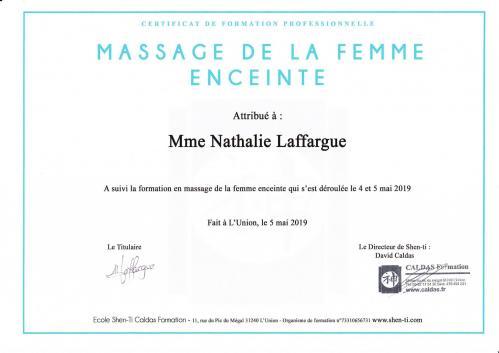 Diplome massage femme enceinte